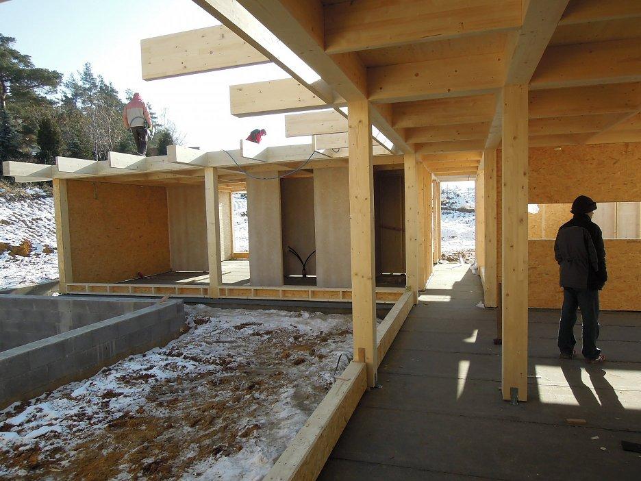 Foto z výstavby