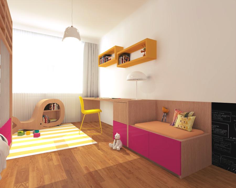 97d0a7cd0 Základ je jednoduchý – dobrá posteľ a stôl. Ostatné nechajte na deti.