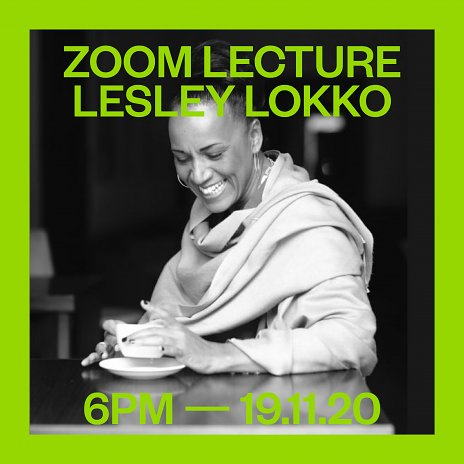 November Talks 2020 - Lesley Lokko 19.11