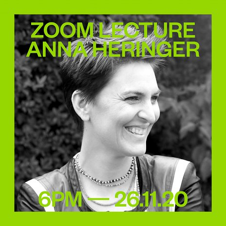 November Talks 2020 - Anna Heringer 26.11