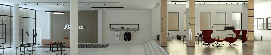 Interiér obchodného domu Baťa v Košiciach - diplomová práca ... 601c0e2a1e8