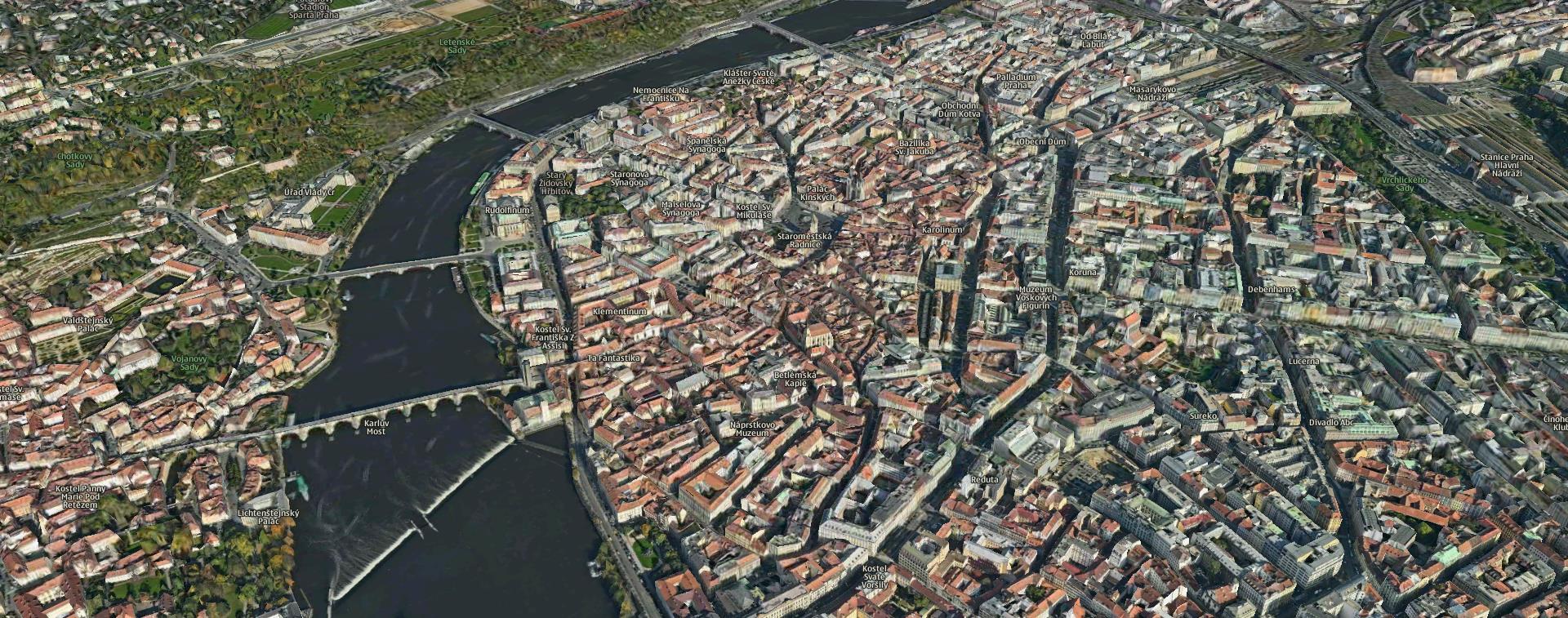 8e97a922089 Praha sprístupnila svoje geodáta - mapy