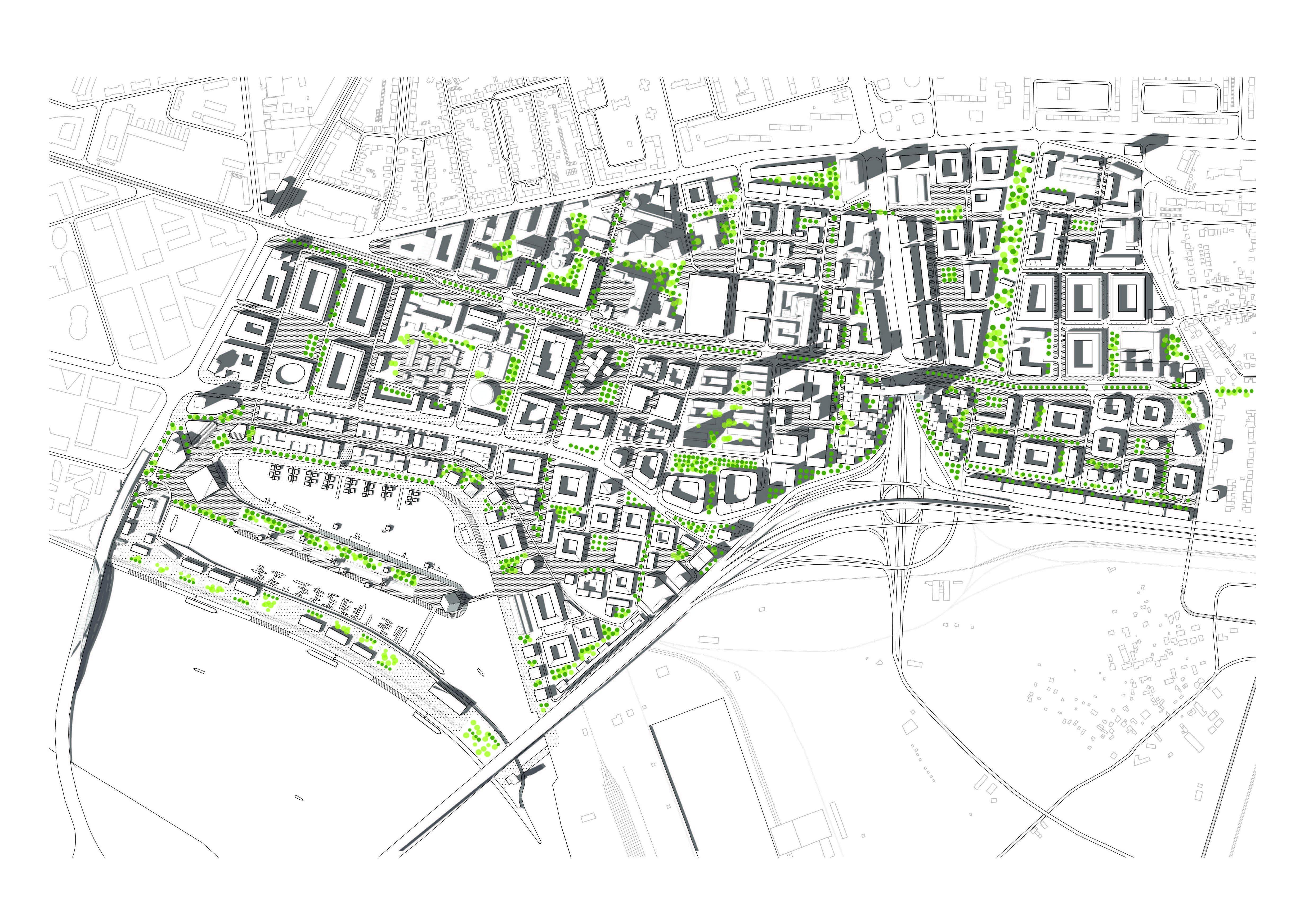 fd98bf3db76 Základnou myšlienkou riešenia je rozmanitosť urbanistickej štruktúry
