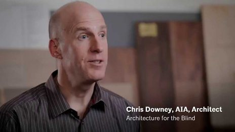 AIA dokument - Chris Downey - príbeh slepého architekta