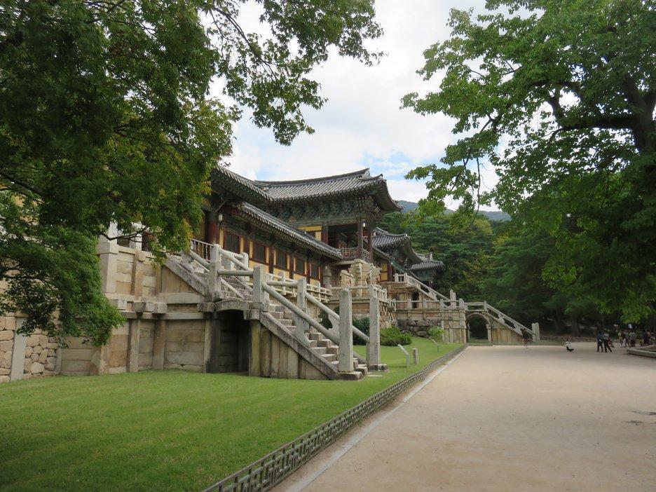 Bulguk-sa - budhistický chrámový komplex