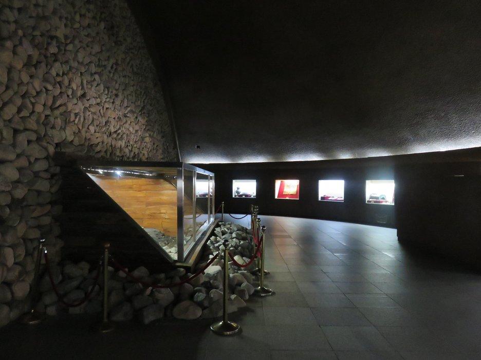Interiér hrobky
