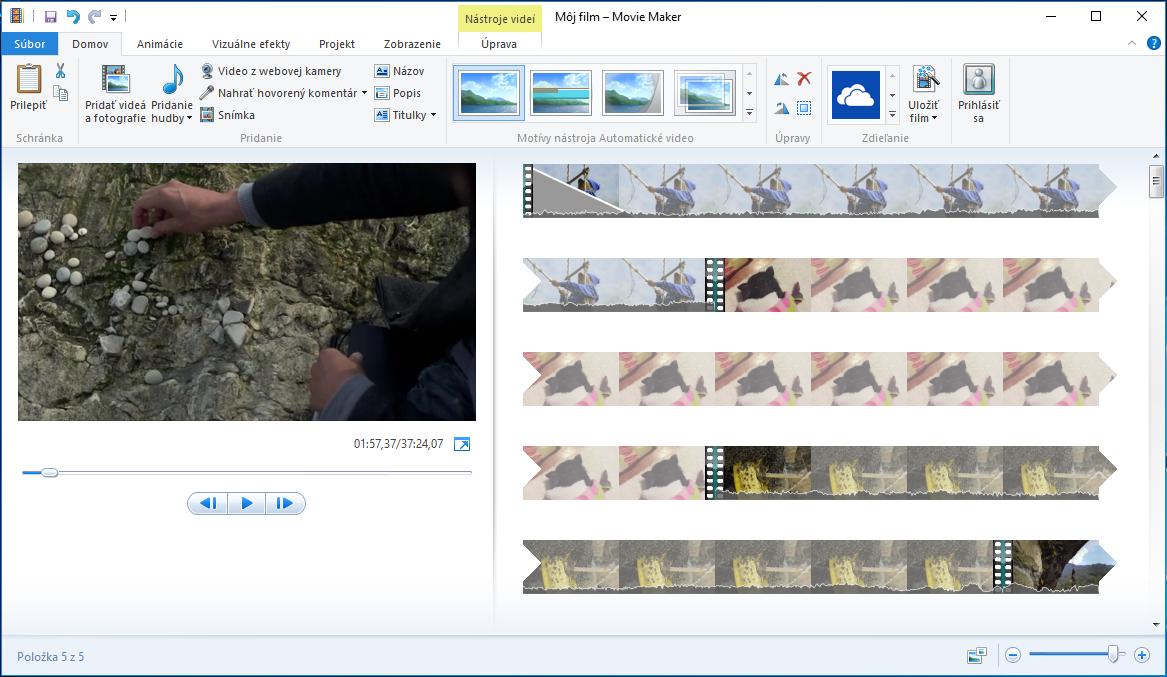 e2cd5cd3e Rozhranie s typickým pásom nástrojov je dnes už dobre známe a navyše je  program aj kompletne v slovenčine. Na úvod stačí video ...