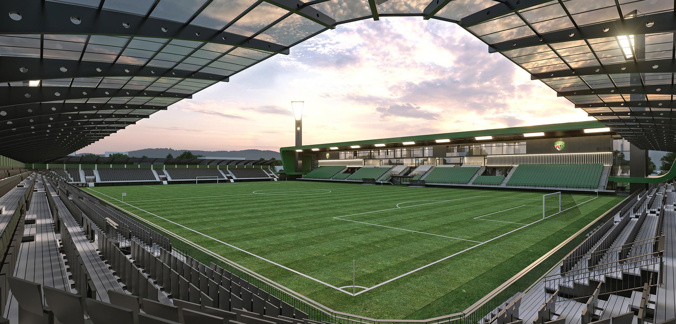 cbbe851186 Výsledky súťaže návrhov na štadión Futbal Tatran Aréna v Prešove ...