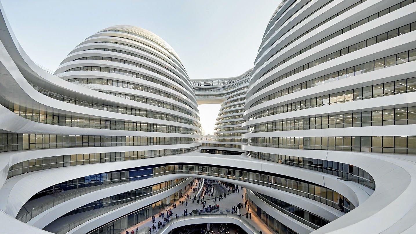 Predn ka patrika schumachera zaha hadid architects v for Architecte hadid zaha