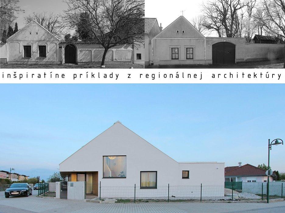 Rodinný dom Seewinkelhaus - východiská a inšpirácia