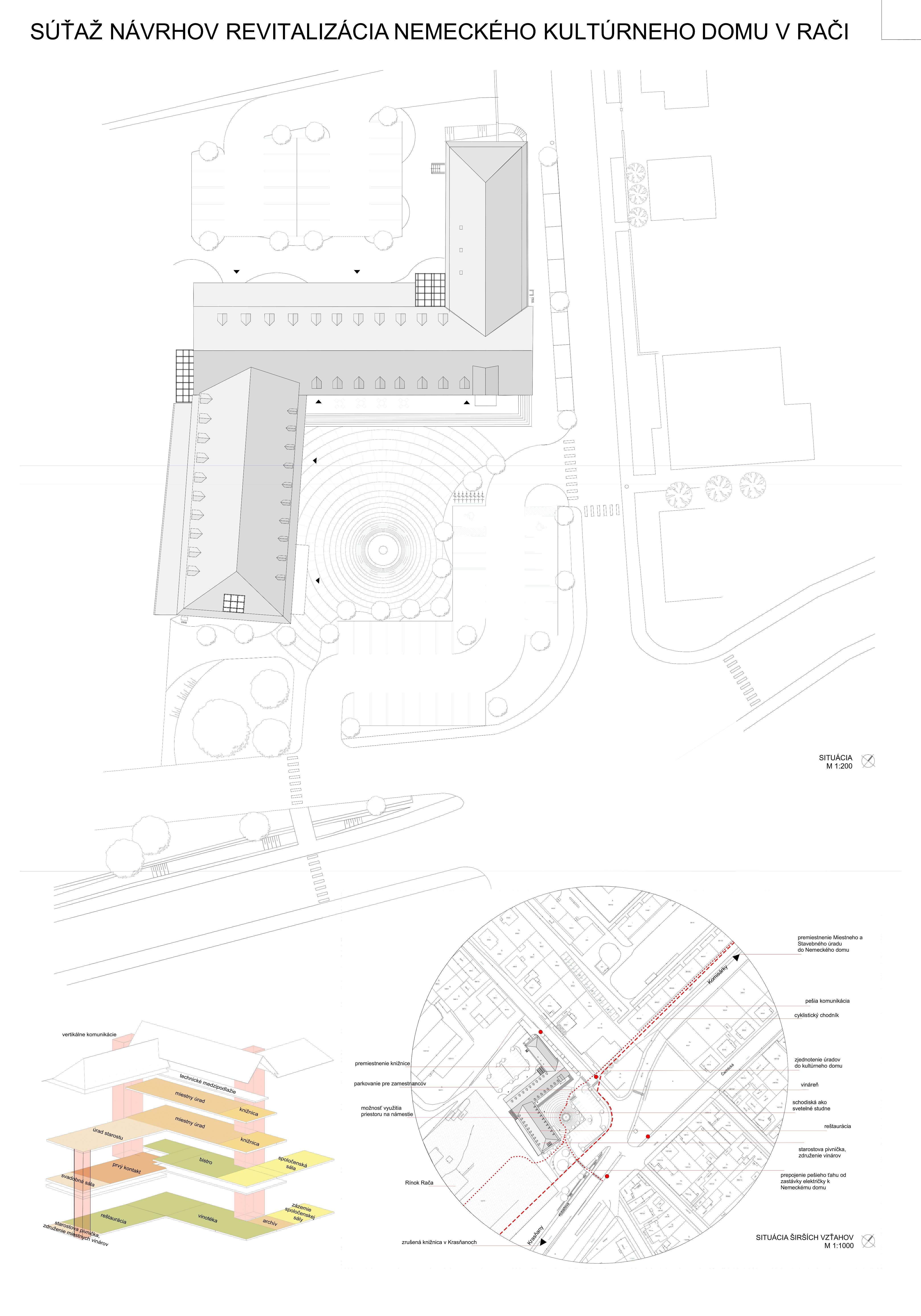dd8406f36 Parkovisko je od pobytovej plochy námestia oddelené zeleňou. Námestie je  zariadené lavičkami, malým detským ihriskom, stojanmi na bicykle a verejným  ...