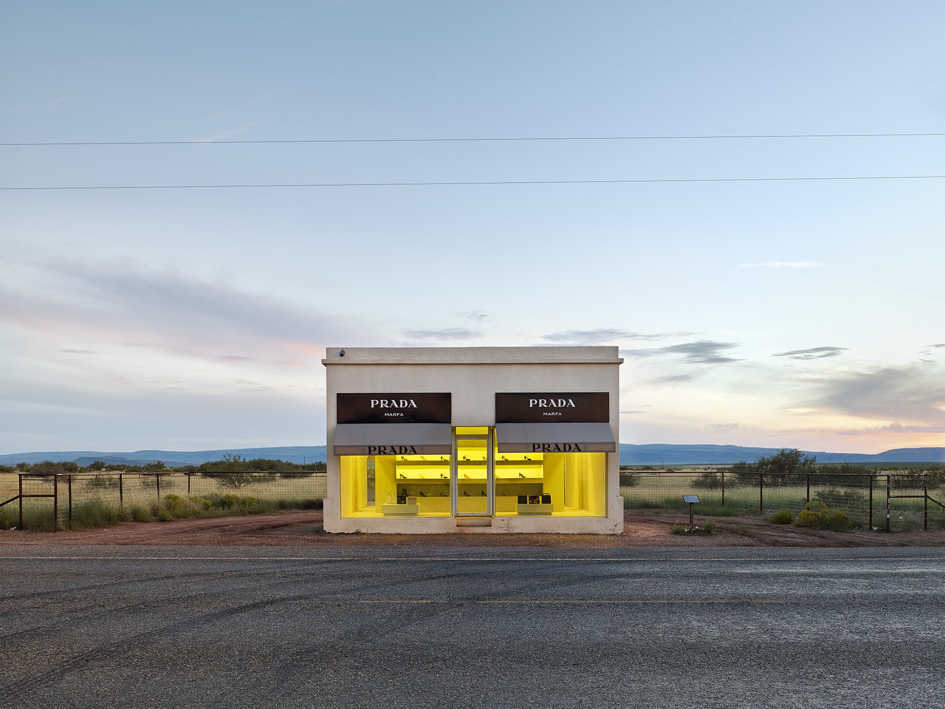 Prada, Marfa, Architectural Sculpture, Texas, 2016