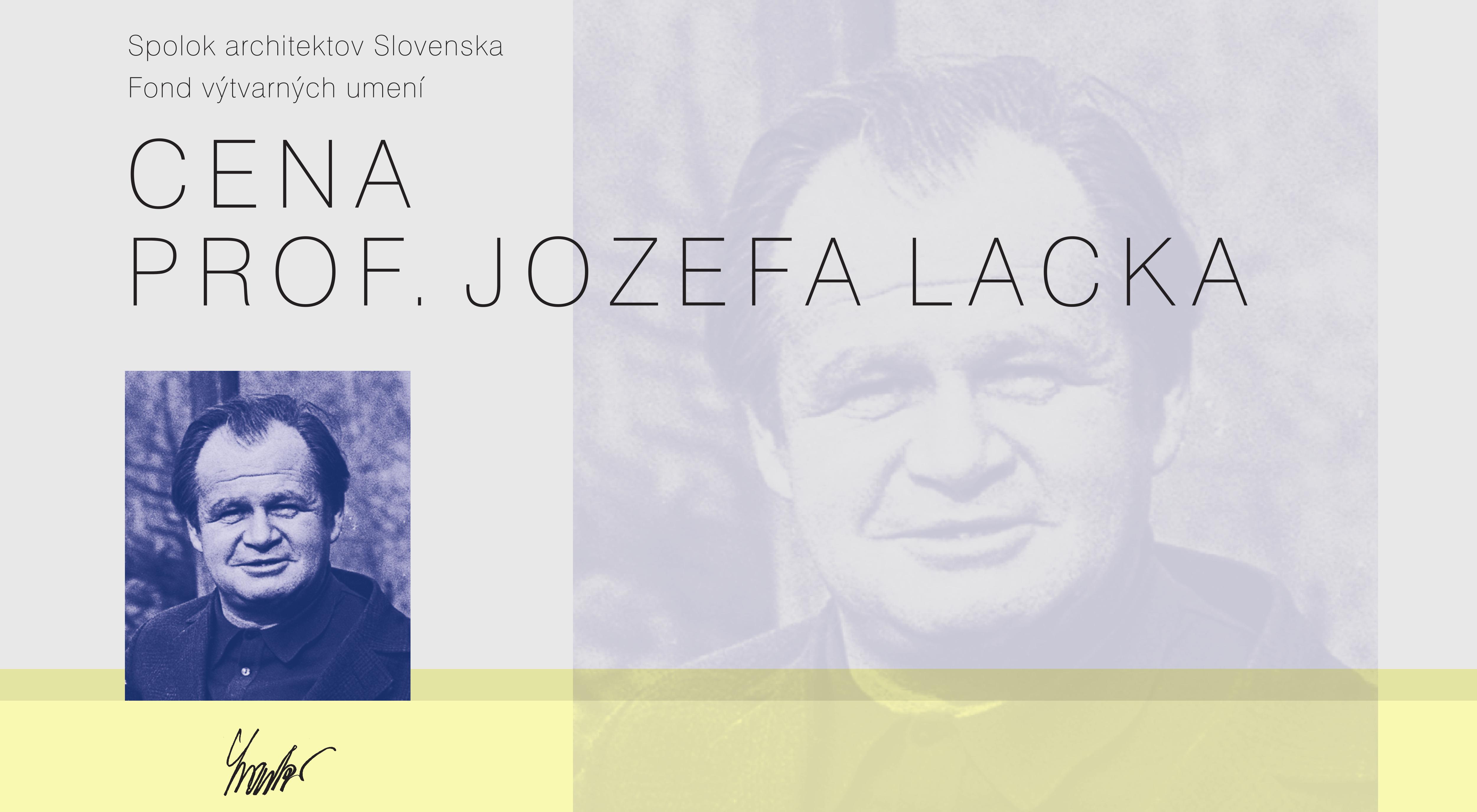1231ccd0f Cena profesora Jozefa Lacka 2016 - výstava ocenených diplomových prác