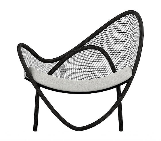 SNAIL ARM CHAIR