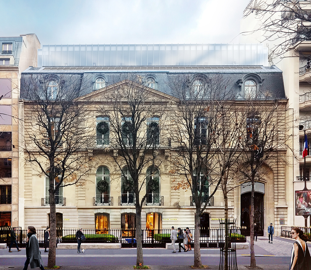Avenue Montaigne, Paris VIII - Offices