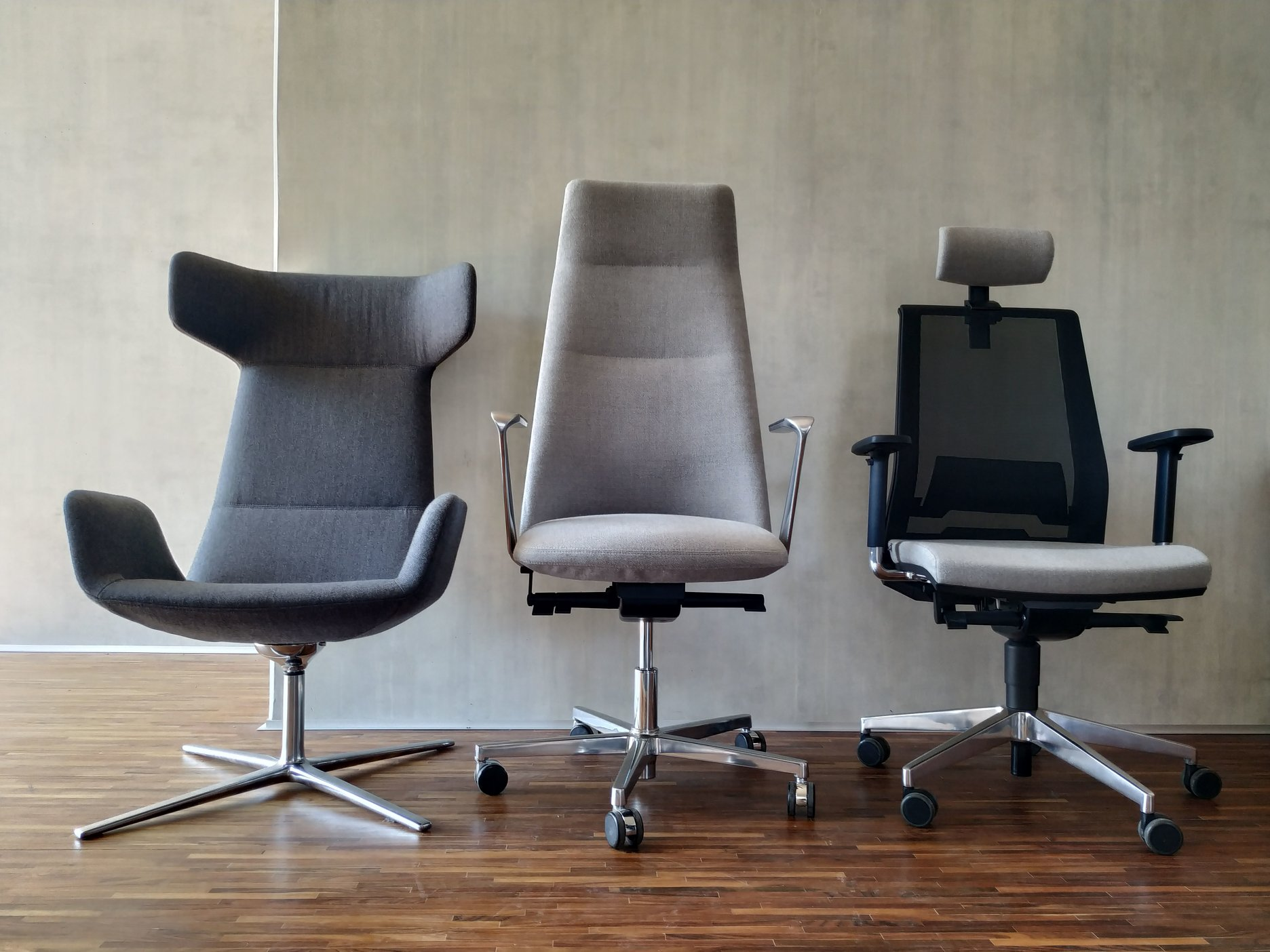 LD Seating, modely: Flexi lounge - Melody office - Look