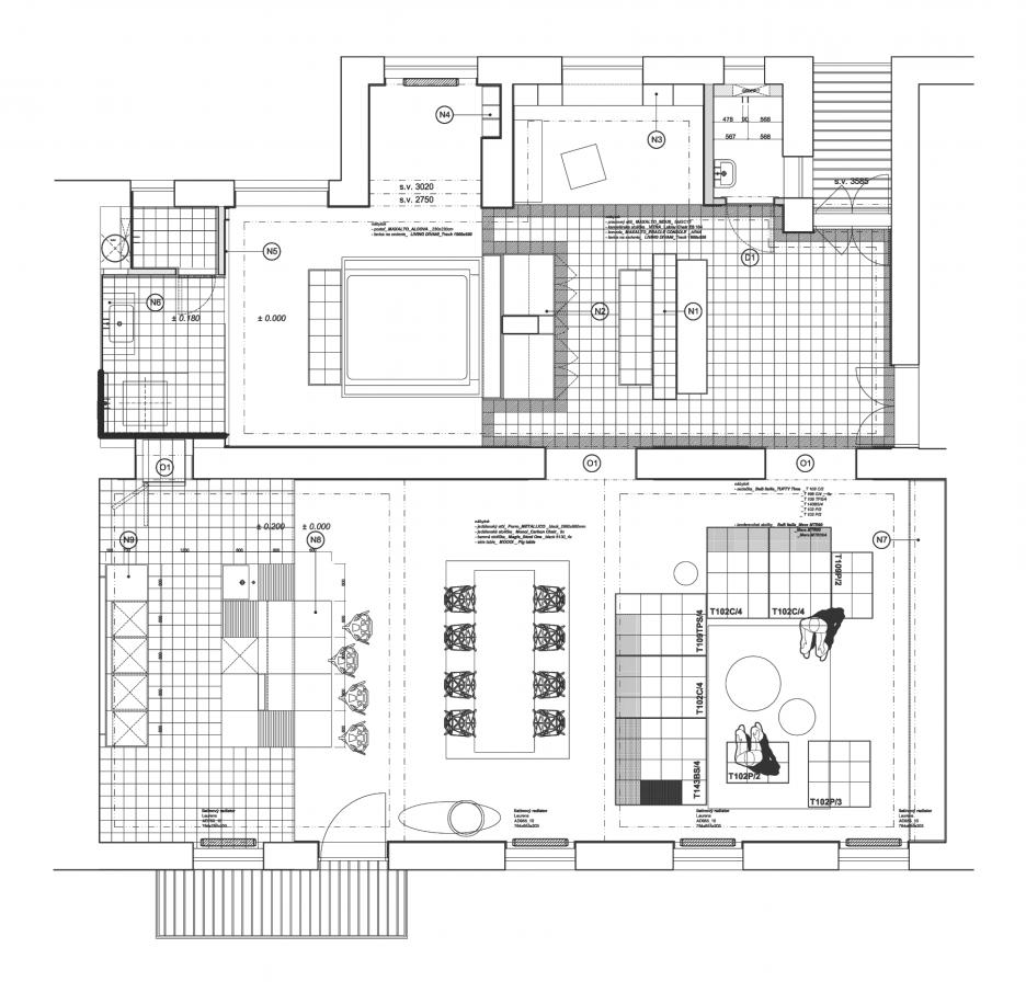 Nový pôdorys bytu